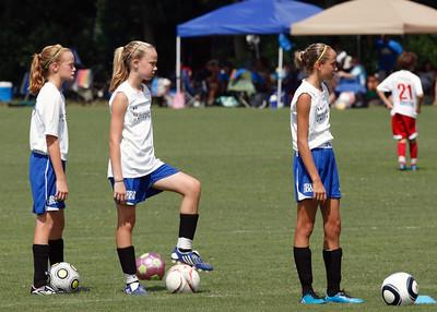SCUFC 98 Girls Elite Saturday Afternoon Match
