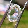 2.32ct Flat Oval Shape Diamond GIA J SI1 14