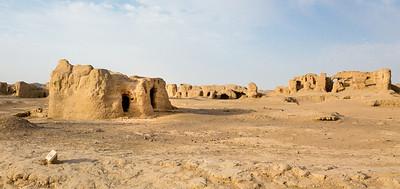 Ruins of Jiaohe city