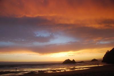 Sunset @ Ocean Beach 8.5.08