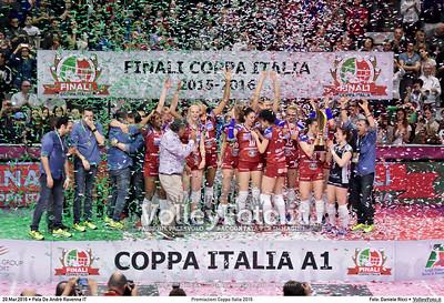 Premiazioni #CoppaItalia #A1F 2016