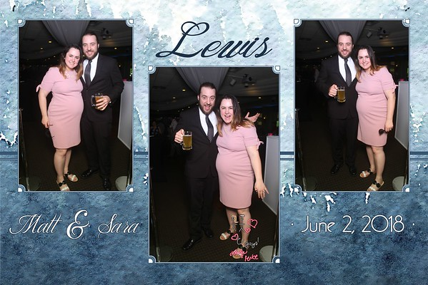 Sara & Matt's Wedding Photobooth Pics 6.2.18!