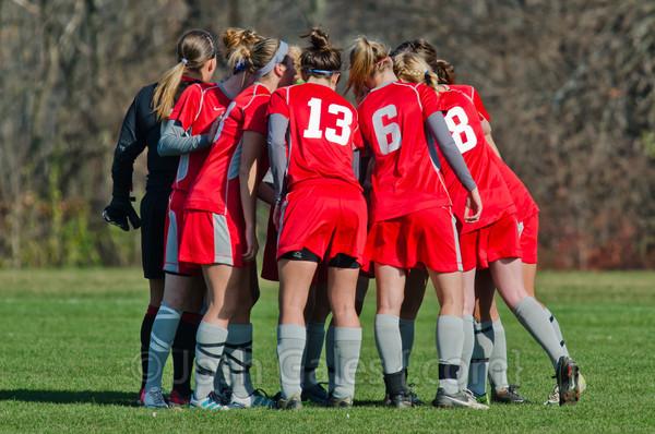 11/17/12 Women's Soccer vs. Grace