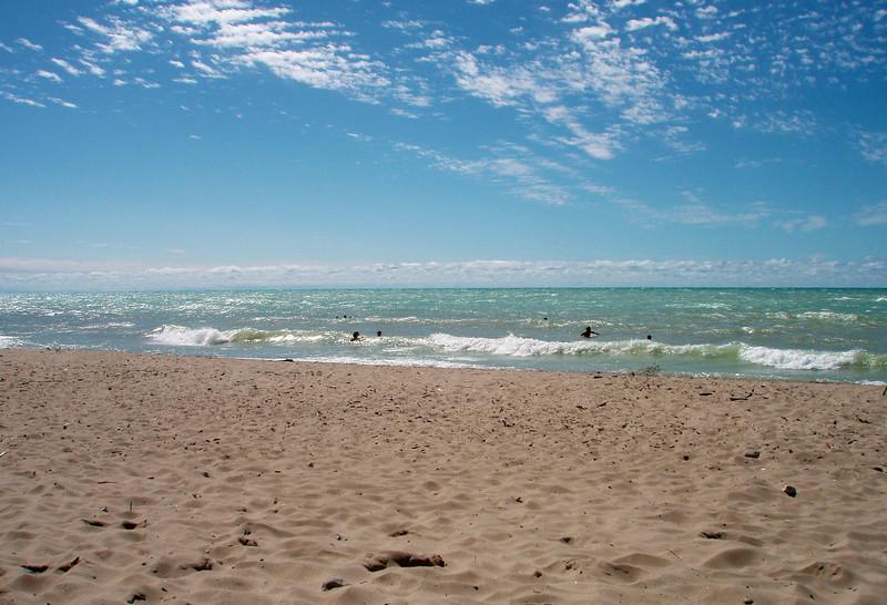 Bayfield Pier Beach