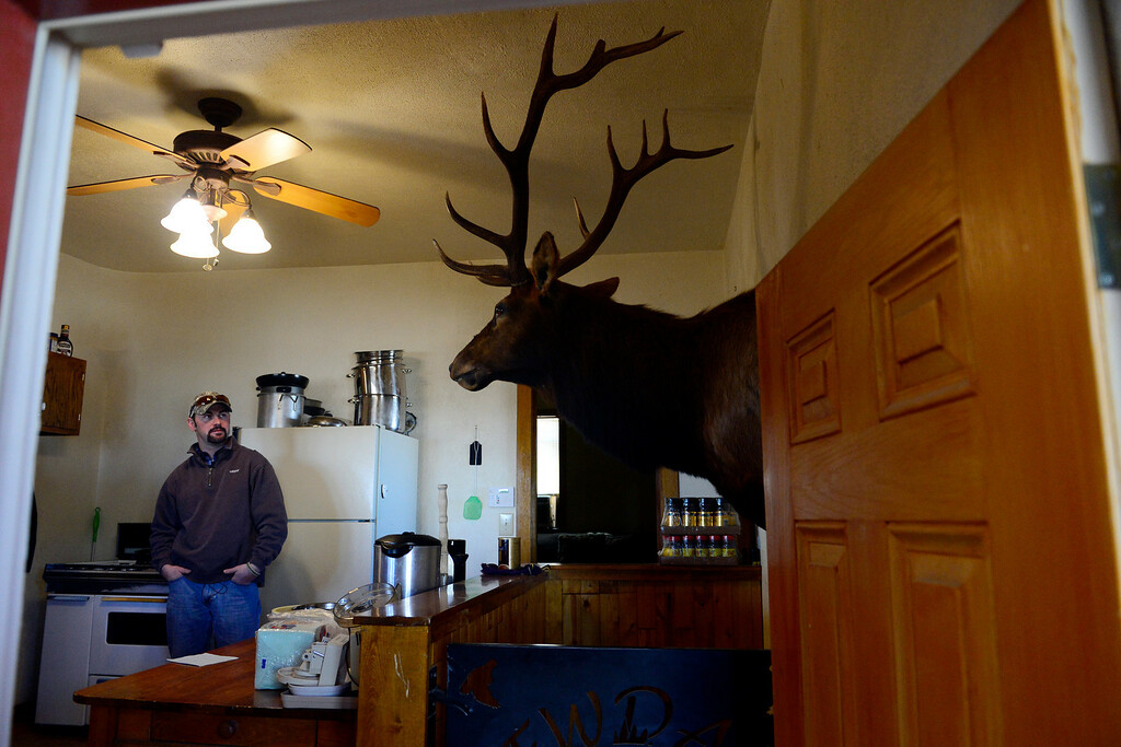 . ROCKY FORD, CO - FEBRUARY 25: Mac Holder stands inside of the guest cabin at his father\'s hunting business New Dale Pheasant and Quail in Rocky Ford. Gun owners in southern Colorado largely agree that responsible ownership begins at home. (Photo by AAron Ontiveroz/The Denver Post)