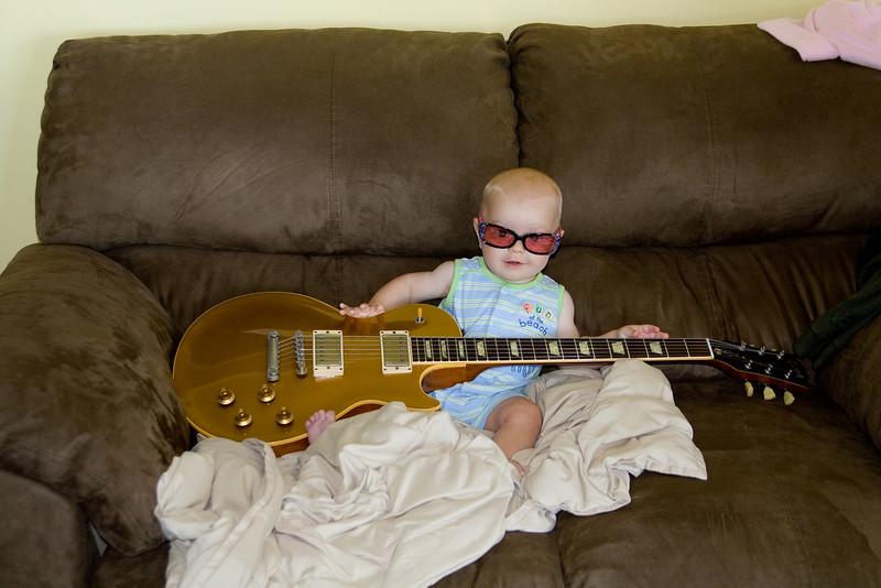 Quinton's rock star photo