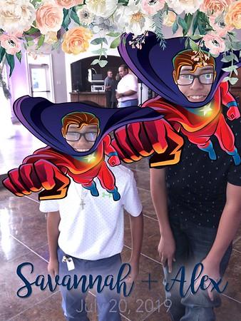 Savannah and Alex