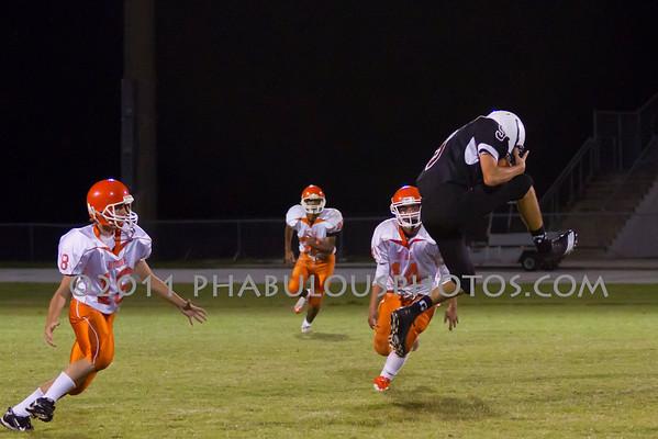 Boone JV Football #18- 2011