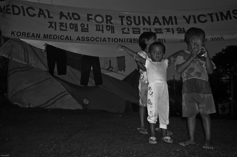 Tsunami, Banda Aceh, Indonézia