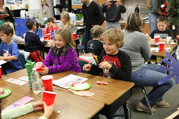 2nd Grade Holiday Party - December 19, 2014