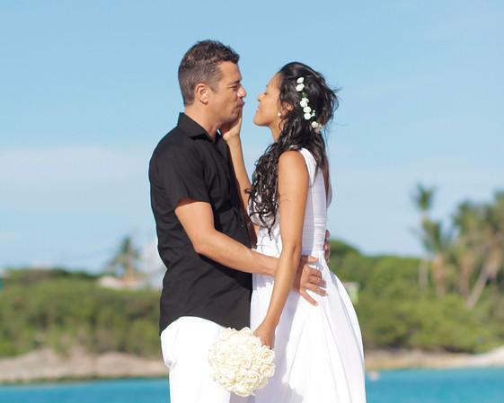 Manfredi & Lana | Destination Wedding | Emerald Bay Beach | Great Exuma, Bahamas