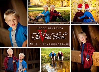 VanVlerah Christmas Cards