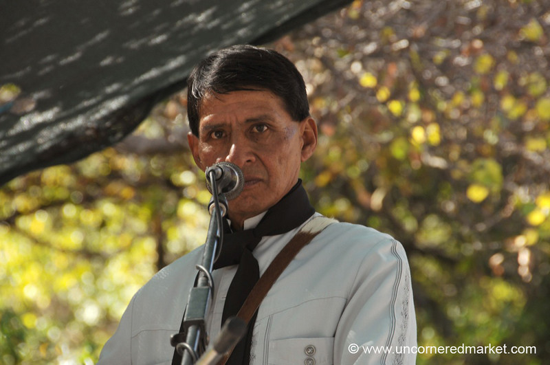 A Serious Singer - Gaucho Festival in Northern Argentina