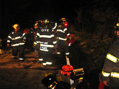 11-5-08 PIAA With Extrication, Bear Mountain Bridge Road