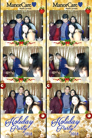 ManorCare Holiday party 2018