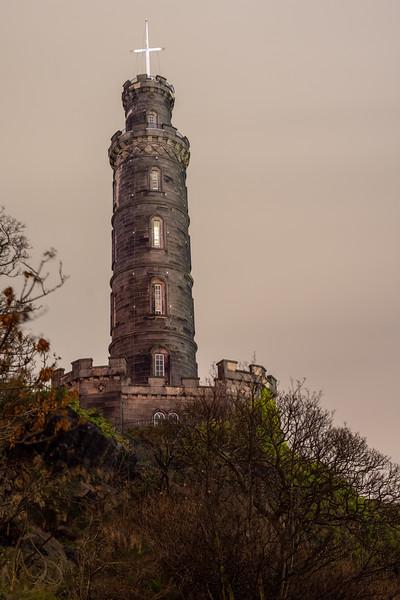Nelson Monument in Edinburgh