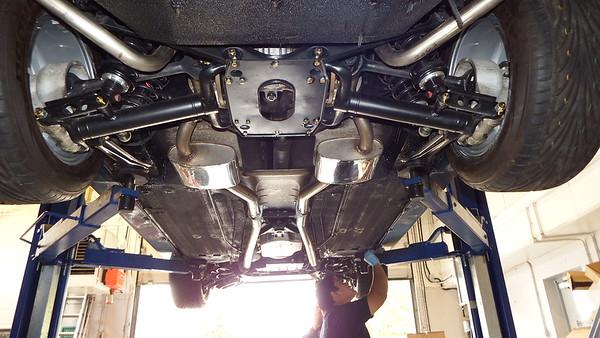G12TWR AJ6 Exhaust system