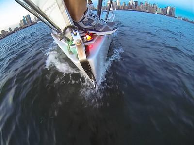 Manhattan Sailing 2013 last race