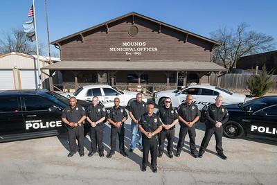 Law Enforcement Magnets - MOUNDS PD