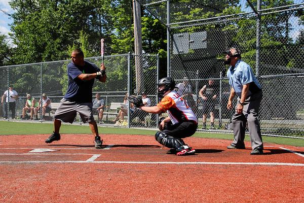 Park Ridge FD Softball vs. Mahwah 6/29/19