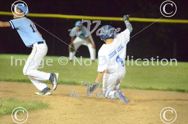 Aurora Pony League  baseball Jordan Legal vs Kiwanis 7-7-14