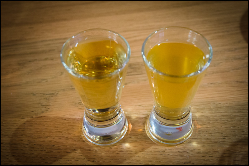 Mezcal pickleback - Sons of Baja