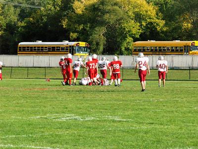 Boys 8th Grade Football - 2007-2008 - 9/26/2007 Orchard View HH