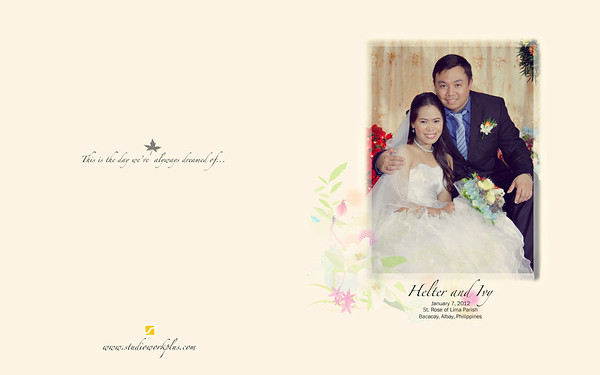 Helter ♥ Ivy Storybook Layout