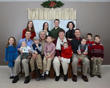 Charlebois Family 2013