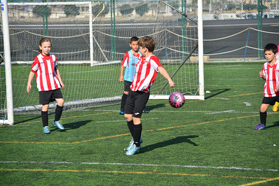 Football - Gibraltar Utd v Manchester 62 - Junior