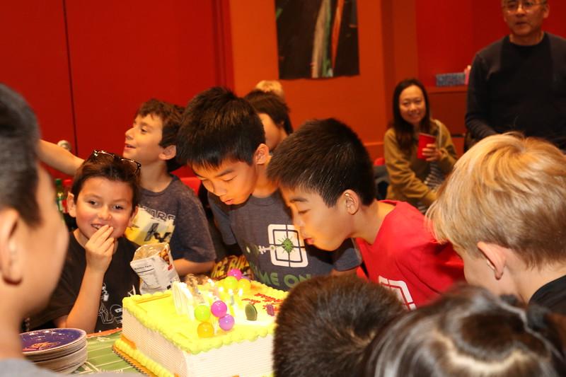 Nathan & Colin 10th birthday