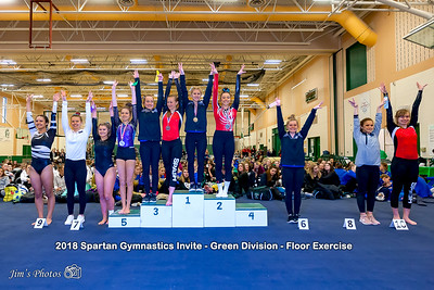 HS Sports - Spartan Gymnastics Invite [d] Jan 27, 2018