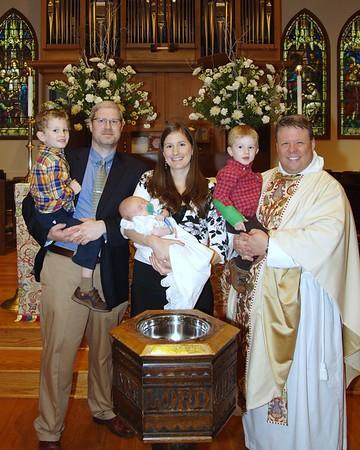 All Saints Day Baptisms