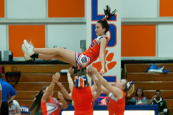 2011-03-01 Cheerleaders - Dayton vs Arts