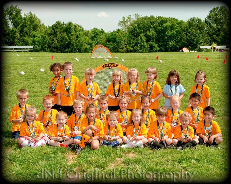 43 Ian & Brielle Play Soccer Last Day (May 2011) - Team (10x8) framed.jpg