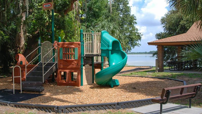 Pirate ship playground at Trimble Park