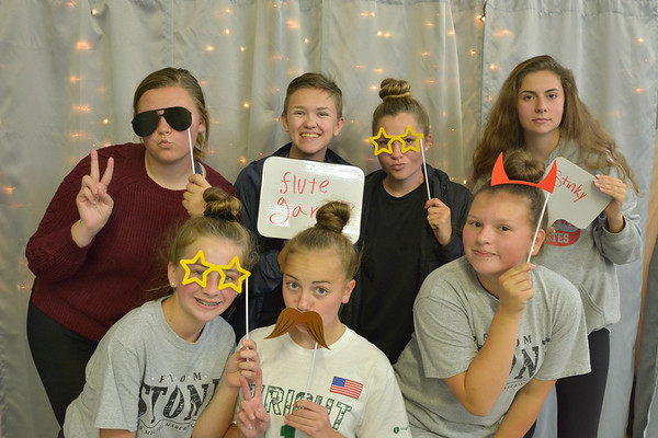 Photo Booth at Band Party 10/25/2019