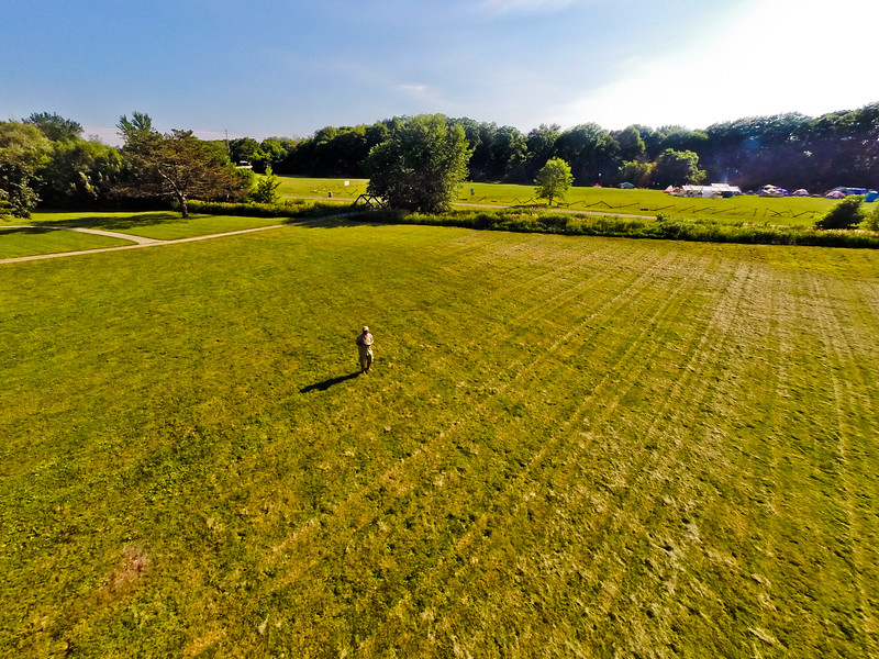 High-noon Summer at the Park 9 : Aerial Photography from Project Aerospace