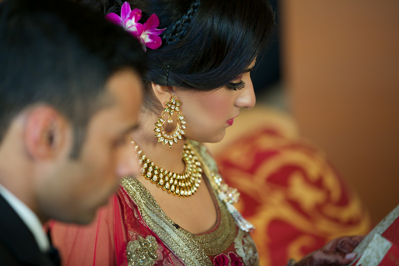 Le Cape Weddings - Indian Wedding - Day 4 - Megan and Karthik Exchanging Gifts 2.jpg