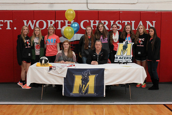 College Signing Kaitlyn 111313