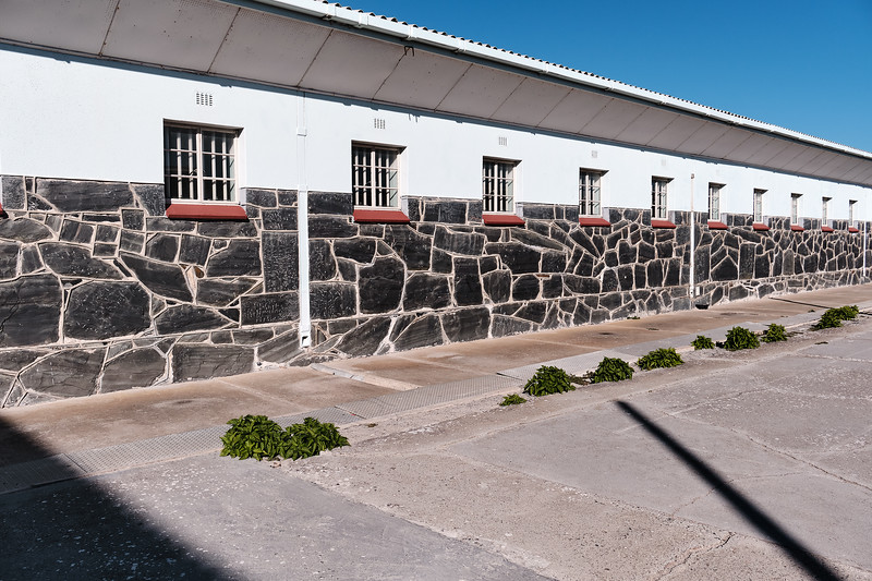 Prison Block, Robben Island