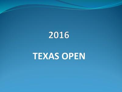 2016 Texas Open