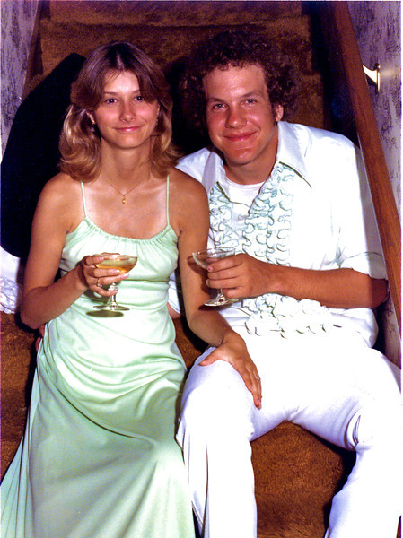 Circa: 1977, Jeff & Jan at John's wedding