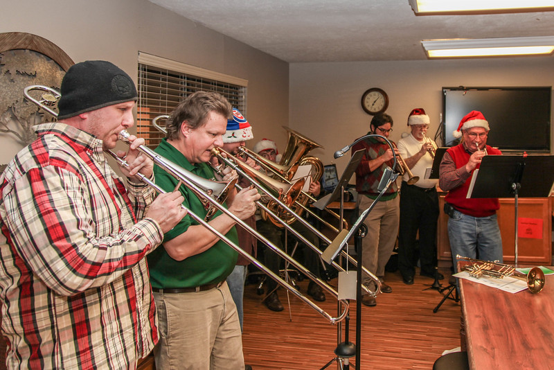 Greater Greenwood Community Band Christmas 2016