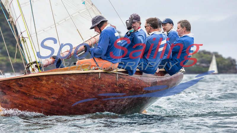 Historic Skiffs - 125th Anniversary race