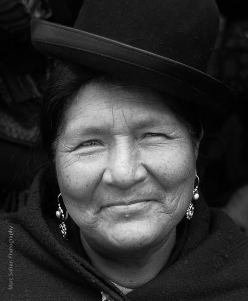 Vendor Woman La Paz, Bolivia