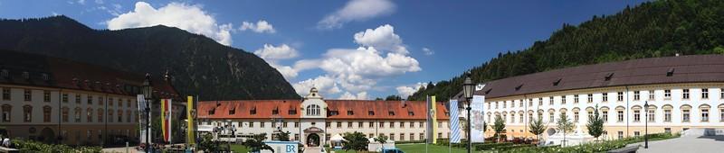 Kloster Ettal, Kochelsee, Walchensee/D - 07/2018