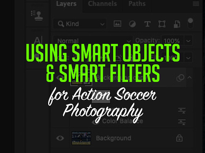 Using Smart Objects & Smart Filters