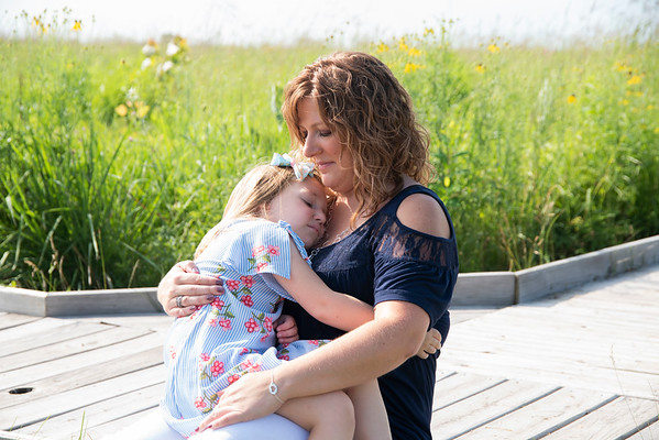 Leah & Mommy 2020