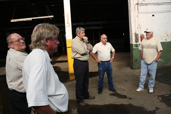 BMA Tours Old Casket Plant